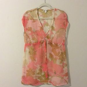 Sheer Blouse or Cover-Up